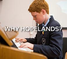 Why Hopelands?