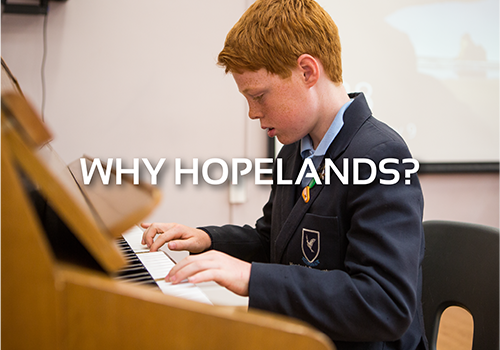 Why Hopelands?